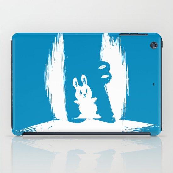 cornered! (bunny and crocodile) iPad Case