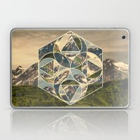 Geometric mountains 1 Laptop & iPad Skin