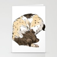 Sleeping Dog #002 Stationery Cards