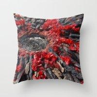 Volcano Throw Pillow