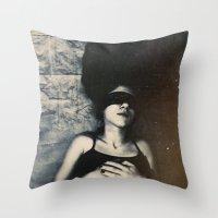fugue Throw Pillow
