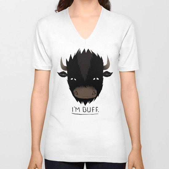 Buff. V-neck T-shirt