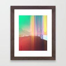 Bars (rework) Framed Art Print