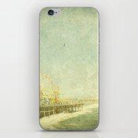 Santa Monica Ferris Whee… iPhone & iPod Skin