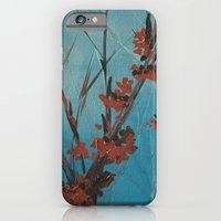 iPhone & iPod Case featuring Slivers of Silver by Charlotte Curtis