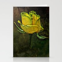 Rose Of Yellow Stationery Cards