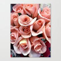 Bouquet of Pink Canvas Print