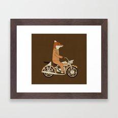 Wild Raider Framed Art Print