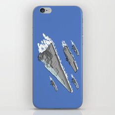 Upgrading the 6th fleet. iPhone & iPod Skin