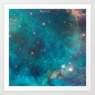 Space 03 Art Print