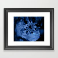 So Blue Without You Framed Art Print