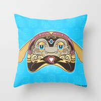 RUFUS (has A Heart That … Throw Pillow