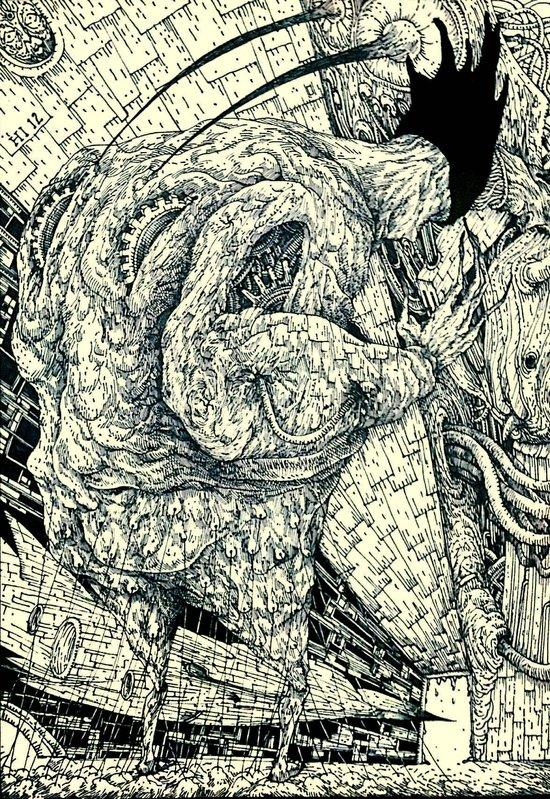 The Butcher Strikes Back Art Print
