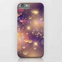 Festive Sparkles in Purple iPhone 6 Slim Case