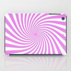 Swirl (Violet/White) iPad Case