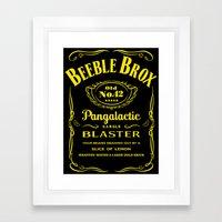 Pan Galactic Gargle Blaster Framed Art Print