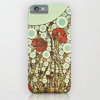 Pop Pop Poppies Abstract… iPhone 6 Slim Case