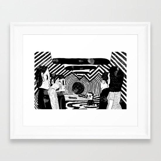 """""""Reflektor"""" by Steven Fiche Framed Art Print"""