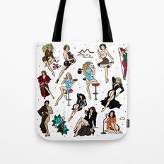 Ladies Of Twin Peaks Pat… Tote Bag