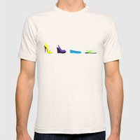 Shoes Mens Fitted Tee Natural SMALL