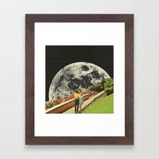 Moonwalk Love Framed Art Print