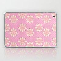 Floral Ice Cream Laptop & iPad Skin