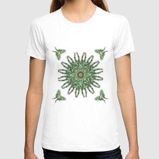 Luna Moth Circle  T-shirt