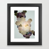 Florals // Pattern I Framed Art Print