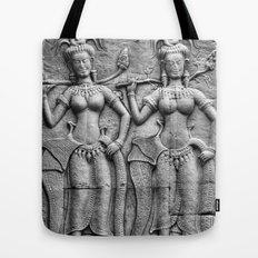 Cambodian Fertility Goddesses Tote Bag