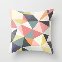 Deco Tris Throw Pillow