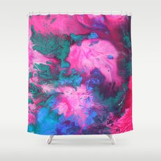Untitled Abstract 8 Shower Curtain