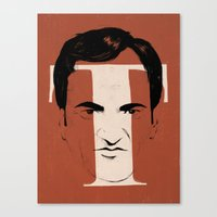 T is for Tarantino Canvas Print