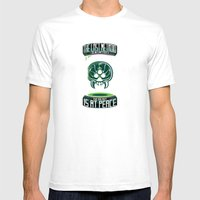 The Last Metroid Mens Fitted Tee White SMALL