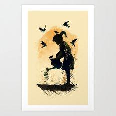 Inner Nature Art Print
