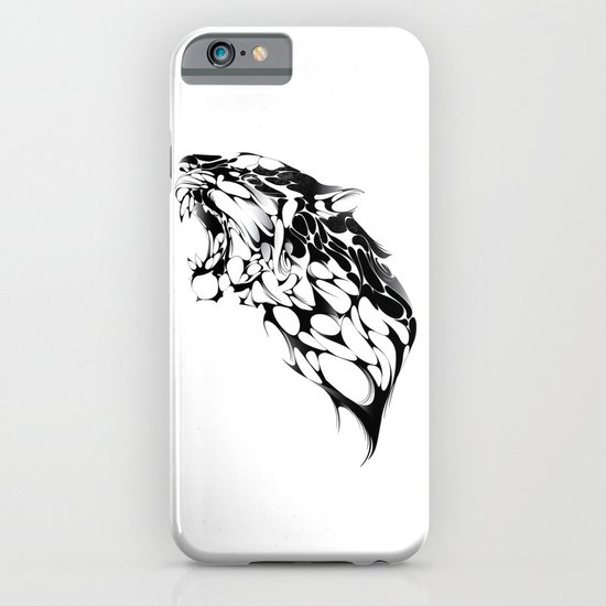 Tiger Growl iPhone & iPod Case