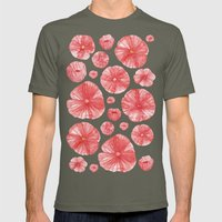 Poppies Mens Fitted Tee Lieutenant SMALL