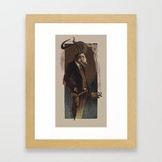 Crooked Man Framed Art Print