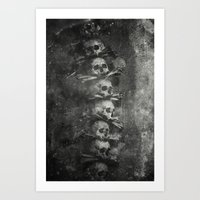 Once Were Warriors III. Art Print