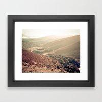 Mountains of Ireland. Framed Art Print
