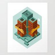 Loving Building Art Print