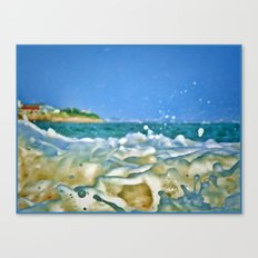 Close Wave!  Canvas Print