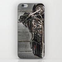 Black Harley Street Glid… iPhone & iPod Skin