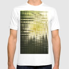 Ground Cover Mens Fitted Tee White SMALL