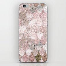 SUMMER MERMAID NUDE ROSEGOLD by Monika Strigel iPhone & iPod Skin