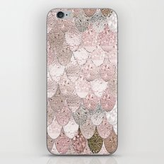 SUMMER MERMAID NUDE ROSEGOLD by Monika Strigel iPhone & iPod Skin