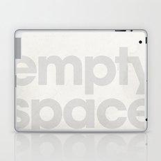 Typo - Empty Space Laptop & iPad Skin