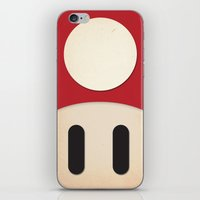 Minimal Powerup iPhone & iPod Skin