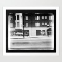 Columbus by Polaroid - B&W Image/Spectra  Art Print