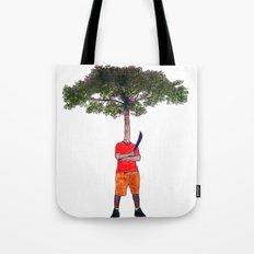 Warrior tree Tote Bag