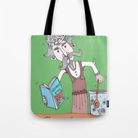 Brightly Island Mixing Potions Tote Bag